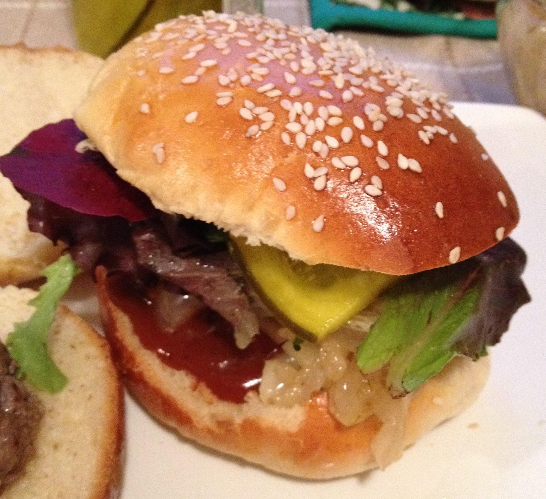 Своими руками чизбургер 17