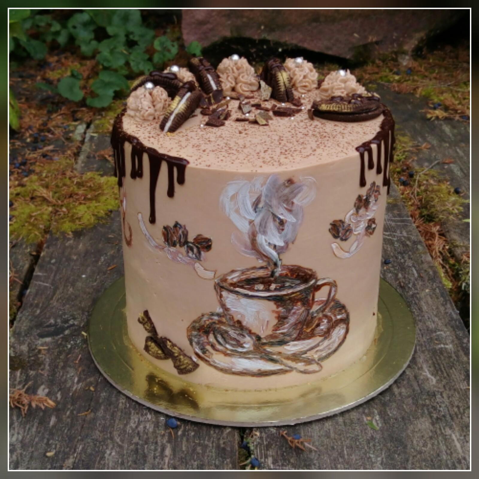 Кофейный торт своими руками фото 521