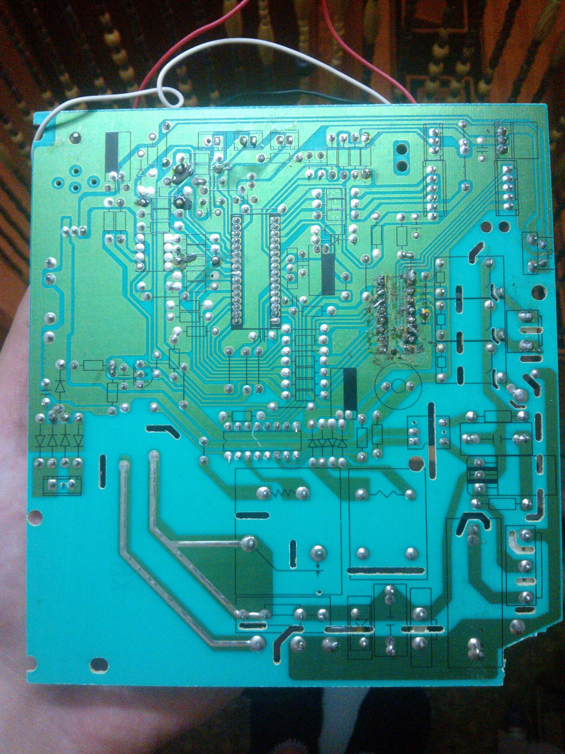 схема управления вентилятора delonghi