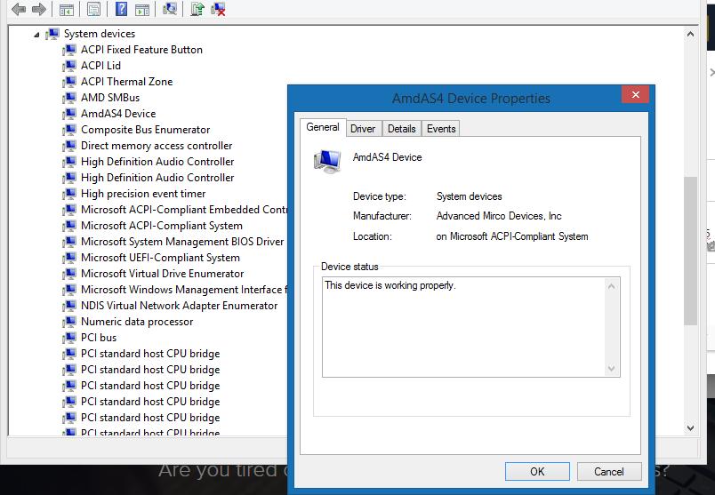 amd processor driver windows 8.1