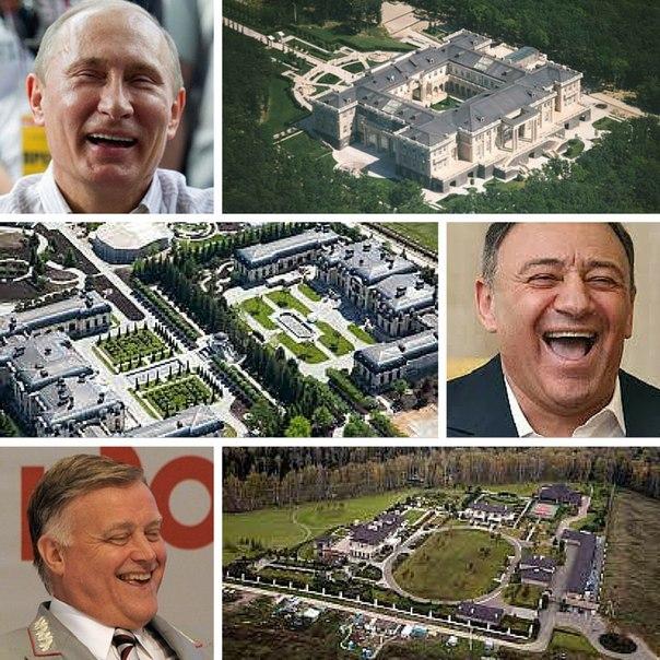 """Глава """"Антимайдана"""" депутат Госдумы Саблин задекларировал дома на Рублевке площадью в 3300 кв.метров - Цензор.НЕТ 1051"""